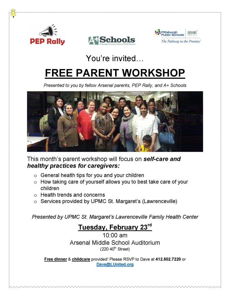 ParentWorkshopSeries_IndividualFlyer_SelfCare2.23.16