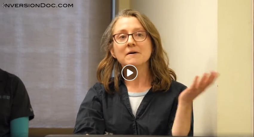 Christine Brill delivers her testimony to the Allegheny County Board of Health on Jan. 10. Click to view the video (via Inversion Documentary).